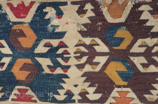 Early 19th Century Anatolian Kilim one part Size.270x86cm