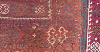 Second 19th Century Konya Cihanbeyli Rug Size.188x125cm
