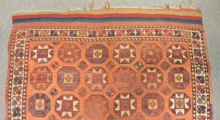 19th Century West Anatolian Kütahya Rug Size.150x128cm