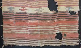 18th Century West Anatolian Afyon Dazkırı Fragment Kilim Size.160x140cm