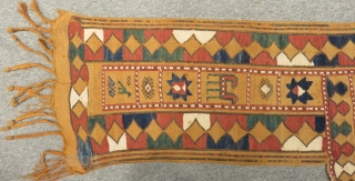 Antique Shahsavan Horse Cover Size.185x108cm