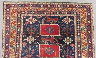 Antique Caucasian Karakasli Shirvan Rug Size.150x115 Cm