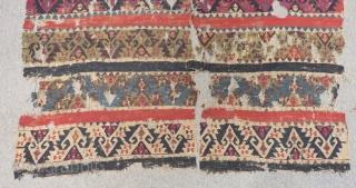 18th Century East Anatolian Malatya Kilim Fragment Size.220x160cm