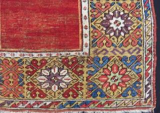Early 19th Century Central Anatolian Konya Prayer Rug Size.150x102 Cm