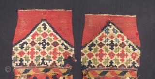 Antique Shahsavan Kilim Bag Size.80x42cm.80x42cm