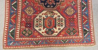 Antique Caucasian Loripambak Rug Size.205x153cm