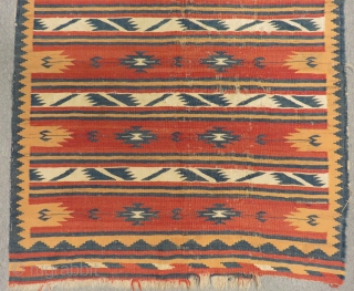 Antigue Persian Kilim Size.164x126cm