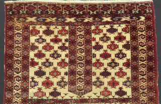 Türkmen Yamud Ensi All Colours Natural 70 or 80 Years Old Size.174x120 cm