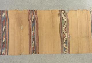 19th Century Anatolian Kilim Size.385x85cm