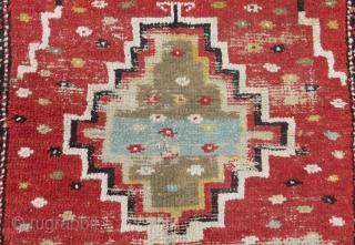 Early 19th Century Central Anatolian Konya Tulu Size165x124 Cm
