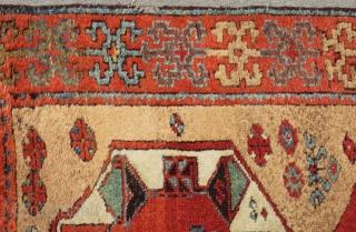 Early 19th Century East Anatolian Rug Size.190x118 Cm