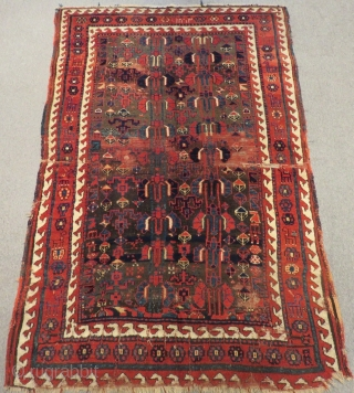 Antique Persian Saucbulak Rug.Size:220x140cm