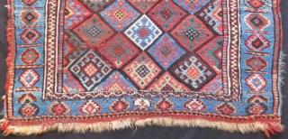 Antique Persian Jaff Bagface Size.100x62