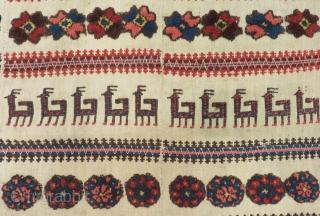 Antique Shahsavan Horse Cover Size.114x112cm
