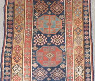 Antique Persian Shahsavan Runner Rug Size.375x100cm