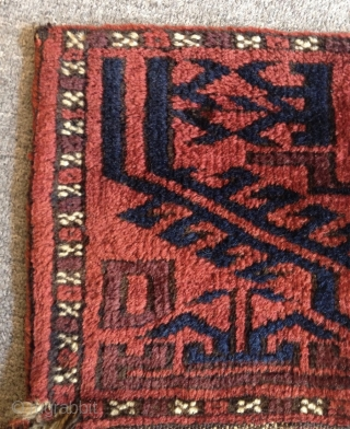 Antique Baluch Bagface Size.26x24cm