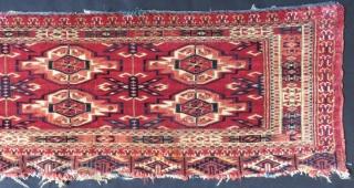 Antique Türkmen Tekke Torba Size.92x28cm