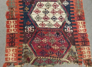Early 19th C East Anatolian Malatya Kilim Size.160x109cm