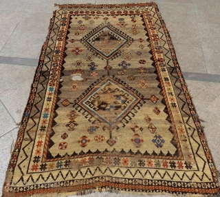 Antique Persian Gabbeh Rug  Size.225x135 Cm