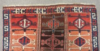 Early 19th Century East Anatolian Sivas Şarkışla Rug Size.173c104cm