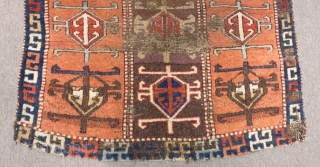 Early 19th Century East Anatolian Sivas Şarkışla Rug Size.173c104cm