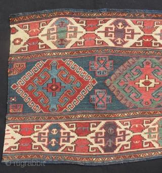 Antique Shahsavan Sumak Mafrash Panel Size.57x47 Cm