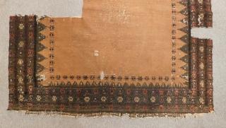 Antique Baluch Sofra Size.140x140 Cm