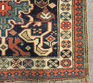 Antique Persian Veramin Bagface Size.70x57cm