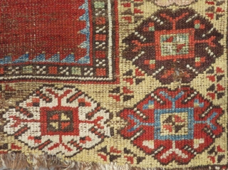 Early 19th Century Central Anatolian Karaman Prayer Rug Size.148x96cm