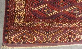 Antique Türkmen Yamud Main Rug Size.312x200cm