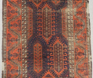 Antique Baluch Rug SiZE.158X103CM