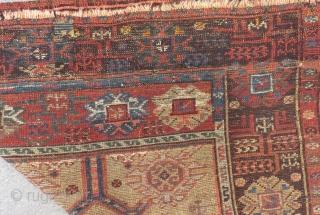 19th Century Central Anatolian Karaman Prayer Rug Size.128x105cm