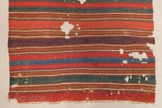 Early 19th Century Central Anatolian Kilim fragment Size.148x138 Cm