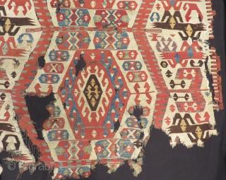 18th Century Southern Anatolian Mut Kilim Size.148x130cm