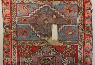 Earıly 19th Century East Anatolian Rug Size.175x105 Cm