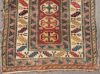 Antique Caucasian Kuba Sirvan Rug Size.260x92cm