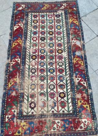 Antique Caucasian Shahsavan Rug Size.205x113cm