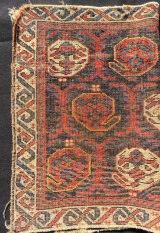 Antique Afshar Bagface Size.62x46 Cm