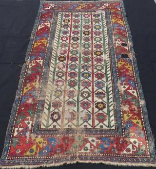 Antique Caucasian Shahsavan Rug Circa 1870.1880 Size.205x113 Cm