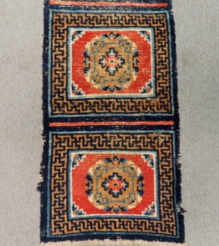 Antique Tibetian Runner Rug Size.250x57 Cm
