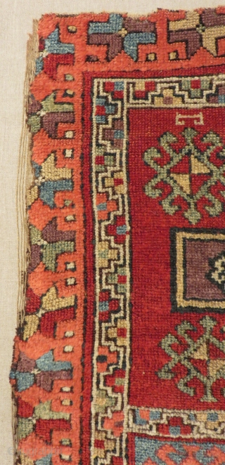18th Century East Anatolian Sivas Rug Size.173x103cm