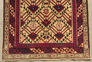 Antique Caucasian Avar Rug Circa 1890 All Colours Natural