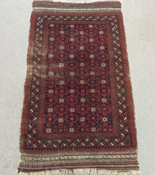 Antique Baluch rug Size.104x84 Cm