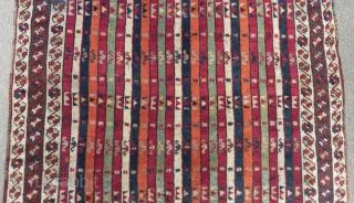 Antique East Anatolian Sivas Rug Size.226x146cm