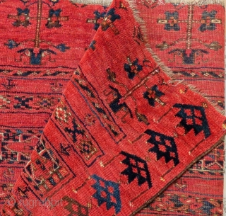 Antique Türkmen Beshir Cuval Size.170x90cm