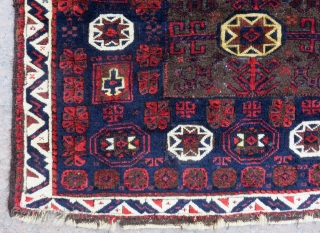 Antique Baluch  Bagface Two Pieces Size.87x65=85X65 Cm