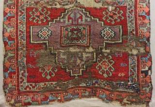 Second 18th C East Anatolian Rug Size.175x105 Cm
