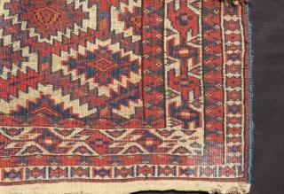 Antique Türkmen Yamud Asmalık Size:130x70 Cm