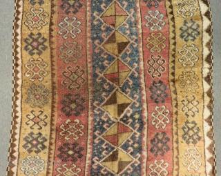 Early 19th Century East Anatolian Erzurum Rug Size.355x125cm