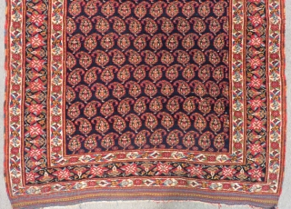 Antique Afshar Rug All colours natural Very fine Quality and Very good Pile Circa 1880 Size.160x125 Cm
